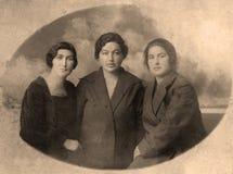 Oude foto Royalty-vrije Stock Afbeeldingen