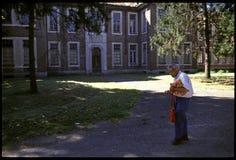 1992 Oude foto aan Psychiatic-het Ziekenhuis Stock Foto