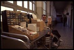 1992 Oude foto aan Psychiatic-het Ziekenhuis Stock Afbeelding