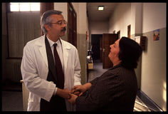 1992 Oude foto aan Psychiatic-het Ziekenhuis Royalty-vrije Stock Fotografie