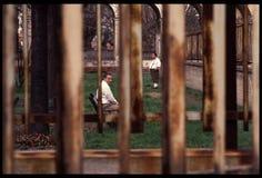 1992 Oude foto aan Psychiatic-het Ziekenhuis Stock Afbeeldingen