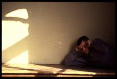 1992 Oude foto aan Psychiatic-het Ziekenhuis Royalty-vrije Stock Afbeeldingen