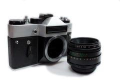Oude foto-camera Stock Fotografie