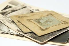 Oude foto's Royalty-vrije Stock Afbeeldingen