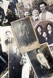 Oude foto's Stock Afbeelding