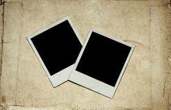 Oude foto's op papier royalty-vrije stock afbeelding