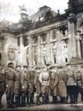 Oude foto van Berlijn in 1945 Stock Foto's