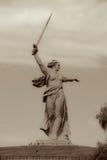 Oude foto van monument Royalty-vrije Stock Fotografie