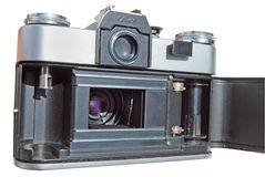 Oude fotocamera Royalty-vrije Stock Foto's