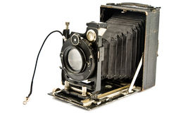 Oude fotoCamera stock foto's