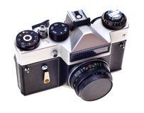 Oude fotocamera. Stock Fotografie