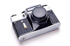 Oude fotocamera. Stock Afbeelding