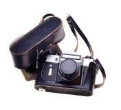 Oude fotocamera. Royalty-vrije Stock Afbeeldingen