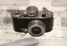 Oude fotocamera Royalty-vrije Stock Fotografie