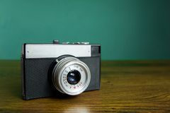 Oude fotocamera Royalty-vrije Stock Afbeelding