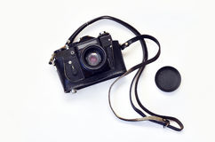 Oude fotocamera Stock Afbeelding