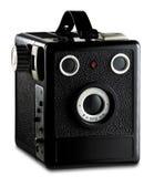 Oude fotografiecamera Stock Foto