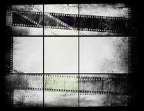 Oude fotografiefilm Stock Foto