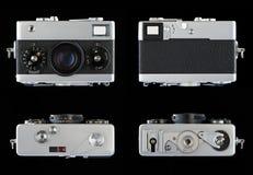 Oude fotografische camera Stock Foto