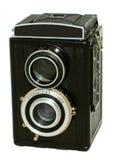 Oude fotografische camera Royalty-vrije Stock Foto's