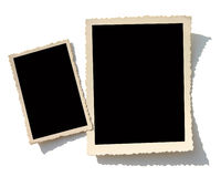 Oude fotogrens Stock Foto