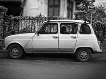 Oude Franse auto Royalty-vrije Stock Foto's
