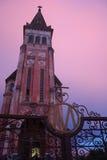 Oude Franse Kerk in Vietnam Stock Fotografie