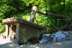 Oude fulling molen - Etar, Bulgarije Royalty-vrije Stock Afbeelding