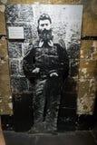 Oude Gaol van Melbourne - Ned Kelly Royalty-vrije Stock Afbeeldingen