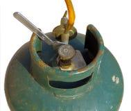 Oude gasbombola Stock Foto's