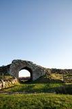 Oude gateway Royalty-vrije Stock Afbeeldingen