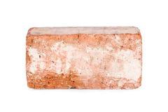 Oude geïsoleerde baksteen Royalty-vrije Stock Fotografie
