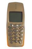 Oude geïsoleerde mobiele telefoon Royalty-vrije Stock Foto's