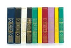 Oude geïsoleerdeb boeken Royalty-vrije Stock Afbeelding