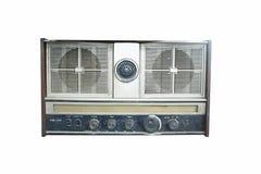Oude geïsoleerdee radio stock foto's