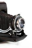 Oude geïsoleerder camera Stock Fotografie