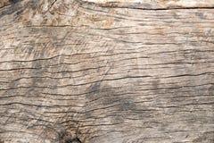 Oude gebarsten houten korreltextuur Stock Foto