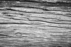 Oude gebarsten houten korreltextuur Royalty-vrije Stock Afbeeldingen
