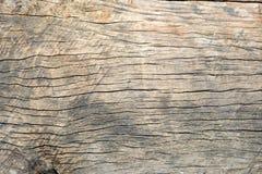 Oude gebarsten houten korreltextuur Royalty-vrije Stock Afbeelding