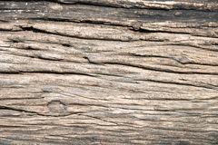 Oude gebarsten houten korreltextuur Royalty-vrije Stock Foto's