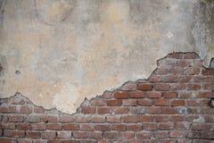 Oude gebarsten muur Royalty-vrije Stock Fotografie