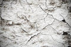 Oude gebarsten muurachtergrond Stock Foto