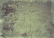 Oude gebarsten muurtextuur als achtergrond Stock Foto