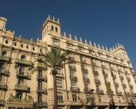 Oude gebouwen Barcelona Stock Foto's
