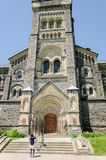 Oude gebouwen bij de Universiteit van Toronto Royalty-vrije Stock Fotografie