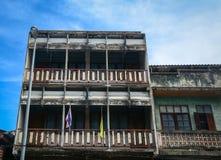 Oude gebouwen in Chiang Mai, Thailand Royalty-vrije Stock Fotografie