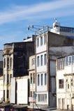Oude gebouwen in Istanboel Stock Fotografie