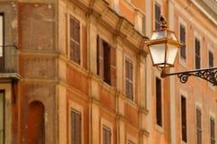 Oude gebouwen in Rome, Italië Stock Foto's