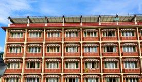 Oude gebouwen in Srinagar, India royalty-vrije stock fotografie