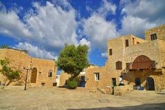 Oude gebouwen van oude Jaffa Israël Royalty-vrije Stock Afbeelding